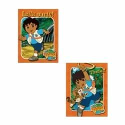 Go Diego Go Invitations and Thank You Combo (8 each)