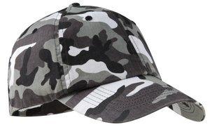 Port Authority Camouflage Cap, Winter Camo, OSFA Winter Camo Cap Hat