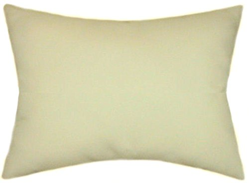 TPO Design Sunbrella Vellum Indoor/Outdoor Solid Pillow 12x18 Rectangle ()