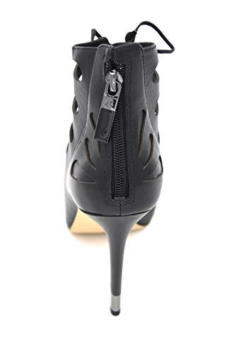 Tronchetto Scarpa Nero Pelle Alla Black Guess Fl2amalea09 Caviglia In Sandalo Donna Art aTnqwxvt