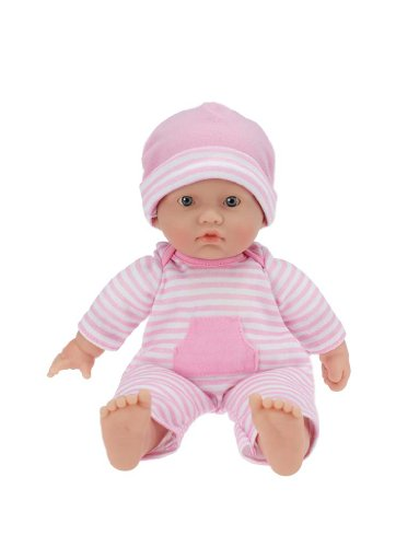 JC Toys La Baby 11-inch Washable Soft Body Caucasian Play Doll For Children