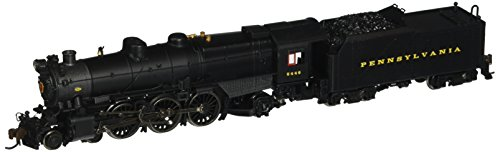 Bachmann Industries PRR K-4S 4-6-2 Pacific Steam Locomotive with DCC Sound - Pre-War with Slat Pilot (N Scale)