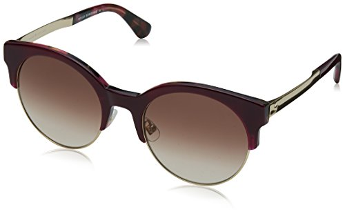 Kate Spade New York Womens Kaileen/S Burgundy Havana/Brown Gradient One Size One - Kate Sale Spade Sunglasses