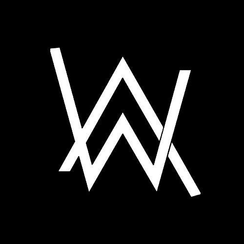 ALLEN WALKE EDM ROCK BAND AW LOGO STICKERS SYMBOL 5.5