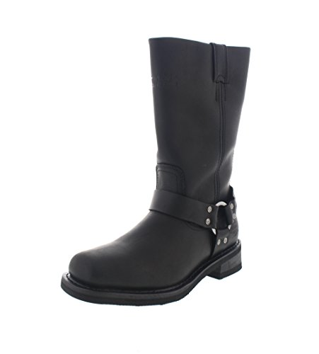 HARLEY DAVIDSON - Botas HUSTIN CE Waterproof black Black