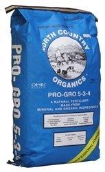 (North Country Organic Pro GRO Organic Fertilizer 5-3-4 25lb)