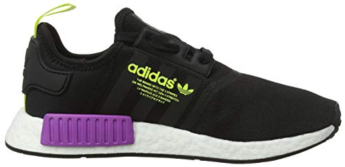 Black NMD Shock Core Core Black Bianco Purple r1 Herren Derbys Schwarz adidas Eu pqwvAW