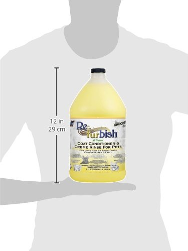 Groomers Edge Re-Fur-Bish Conditioner, 1 Gallon