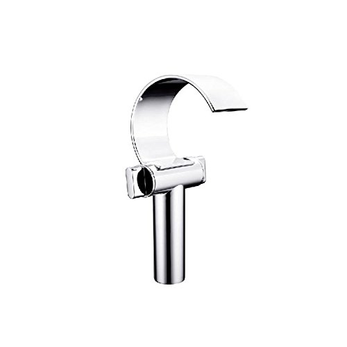 XIE C waterfall mouth raised chrome single hole waterfall face plate face dish bathroom bathroom faucet