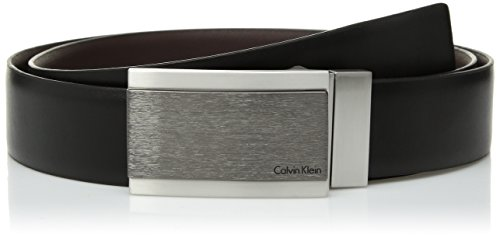 - Calvin Klein Men's Reversible Feather Edge Dress Belt, black, 36