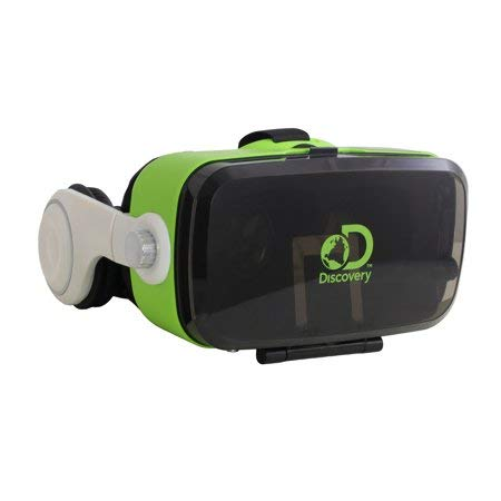 Sakar International, Inc Discovery VR Glasses with BUILTIN Headphones ()
