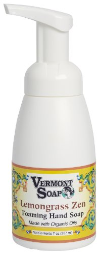 Vermont Soap Organics - Lemongrass Zen Foaming Hand Soap 7oz Pump