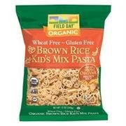 Field Day Organic Gluten Free Brown Rice Kids Mix Pasta, 12 Ounce - 12 per case. -