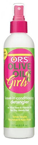 Kids Organic Olive (ORS Olive Oil Girls Leave-In Conditioning Detangler, 8.5 Ounce)