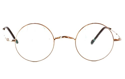 00e2b4b575 Agstum Pure Titanium Retro Round Prescription Eyeglasses Frame (Without  Nose Pads) - Buy Online in UAE.