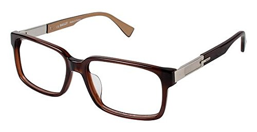 bally-of-switzerland-by3035a-eyeglass-frames-frame-brown-size-57-16mm