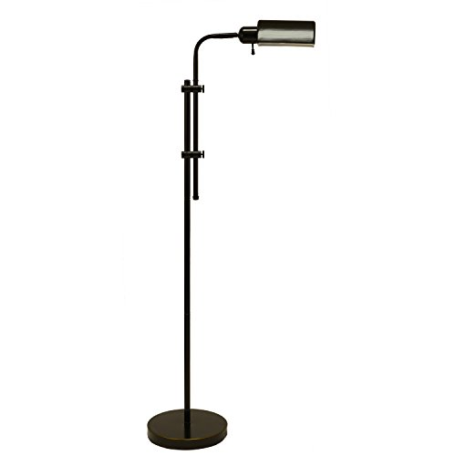 Adjustable Pharmacy Floor Lamp in Oil Rubbed Bronze by Generic