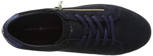 Midnight Sneaker Tommy Zipper Hilfiger Basses Femme Sneakers Bleu Dress 403 xwR1wqPB