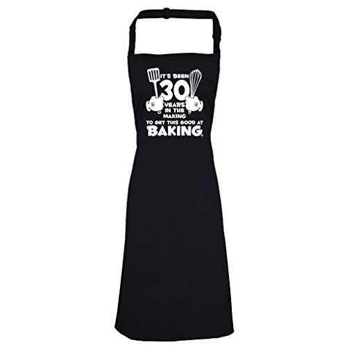 Women's 30th Birthday Apron It's Been 30 Years Baking 1987 Aprons Birthday Gifts