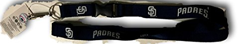 (MLB San Diego Padres Team Color Lanyard, 22-inches, Blue)