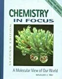 Chemistry in Focus : Molecular View of Our World, Tro, Nivaldo J., 0534407889
