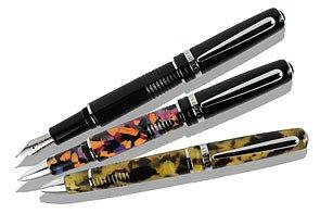 Libelle Siena Nero Black Rollerball Pen - LB-T107