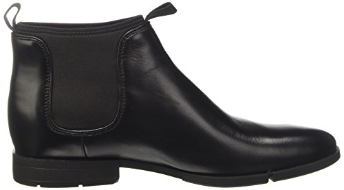 Clarks Daulton Up, Bottes Chelsea Homme Noir (Black Leather)