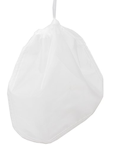 """KMM Pro Quality Nut Milk Bag - Big 12""""X12"""" Commercial Grade - Reusable Almond Milk Bag & All Purpose Food Strainer - Fine food filter bag Cheesecloth & Cold Brew Coffee Filter"""
