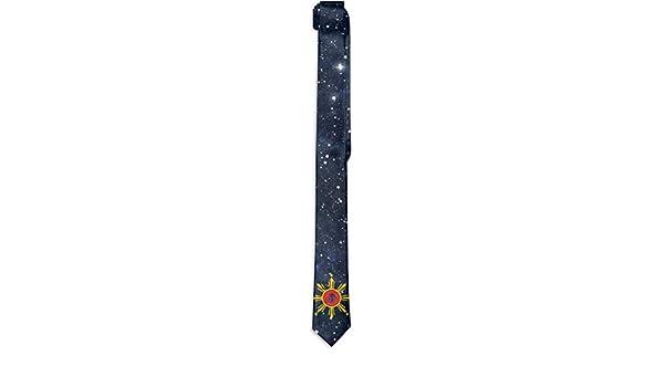 Modern Mens Skinny Tie Floral Print Corbata, Filipino Argentina ...