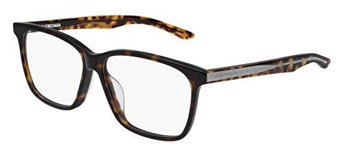 Balenciaga BB0023OA Eyeglasses 002 Havana-Havana 55mm