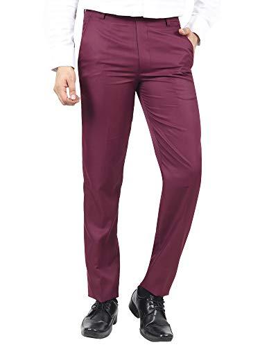 River Hill Men's Slim Fit Formal Trousers