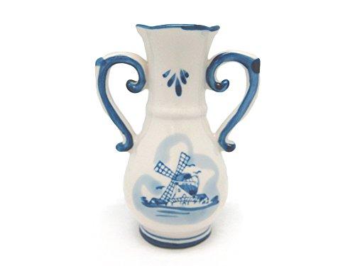 Delft Blue Vase Dutch Gift Idea (Delft Blue Windmill compare prices)