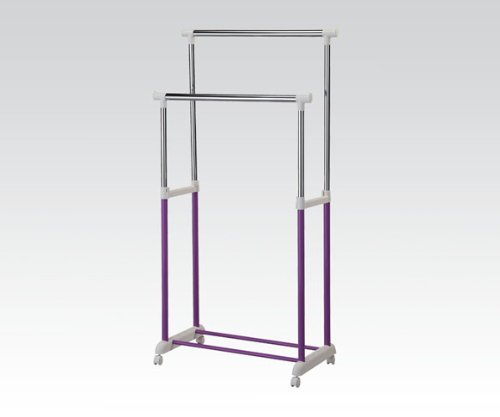 ACME Lera Purple Garment Rack