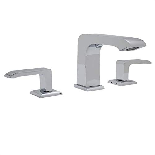 - Rohl CA2202LM-2 Caswell Widespread Bathroom Faucet - Free Pop-Up Drain with purc, Polished Chrome