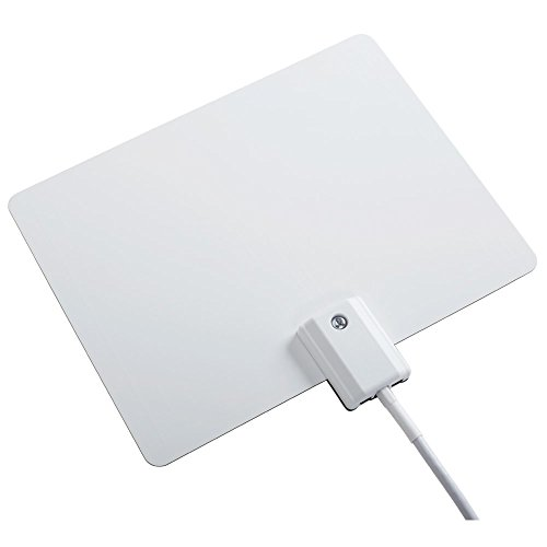 Winegard FlatWave Micro FL-2000 Digital HD TV Indoor Antenna (4K Ready / High-VHF / UHF /   Ultra-Thin / Black and White - Reversible) - 30 Mile Long Range Indoor TV Antenna