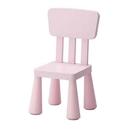 Amazon.com: IKEA Childrens Chair, Light Pink Indoor/Outdoor ...