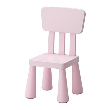 IKEA Mammut High Back Plastic Children's Chair Suitable for Indoor/Outdoor Use (white)