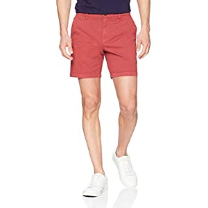 Amazon Brand – Goodthreads Men's 7″ Inseam Flat-Front Comfort Stretch Chino Short
