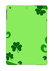 Eatcooment Design High Quality Shamrocks Cover Case With Ellent Style For Ipad Air(nice Gift For Christmas)