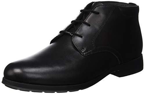 Geox U Hilstone Wide NP ABX F, Stivali Desert Boots Uomo Nero (Black C9999)