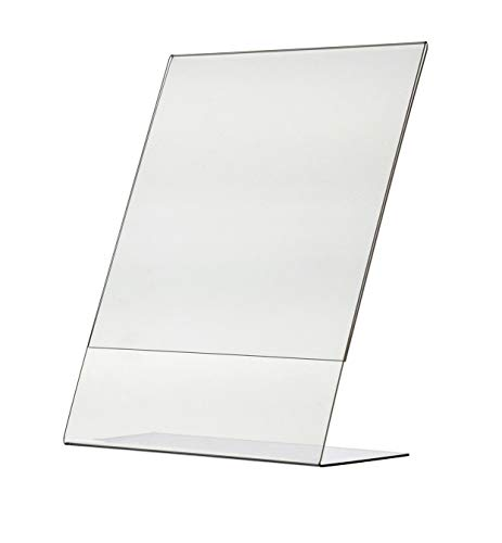 """Marketing Holders Literature 8.5""""w x 11""""h Frame Notice Sign Display Tilt Back Holders Qty 10 from Marketing Holders"""