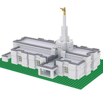 (Brick'Em Young Temple Design for 40+ Temples)