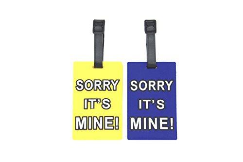 Mine Luggage Tag - CellDesigns Set of 2