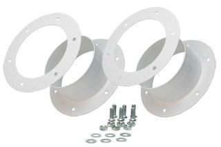 Active Air HAF6 Flange Dual Kit, 6