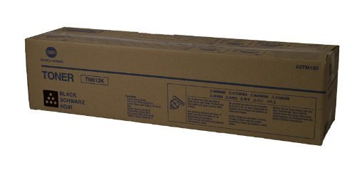 Price comparison product image KONICA MINOLTA OEM A0TM130 TONER CARTRIDGE (BLACK) (A0TM130, TN613K) -
