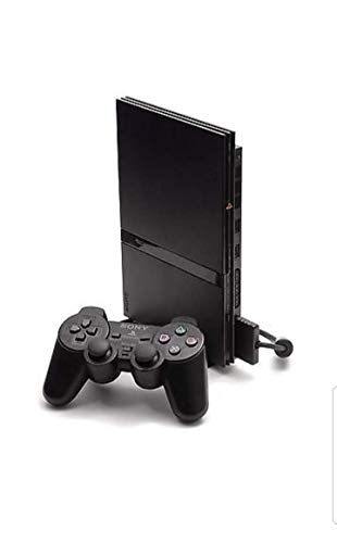 PlayStation 2 Console (Slim Line Version 1) (Renewed)