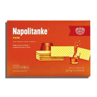 Napolitanke Rum Wafers 330g