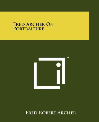 Fred Archer On Portraiture
