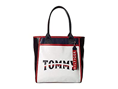 lowest discount outlet buy Amazon.com: Tommy Hilfiger Women's Viola Tote Off-White One ...