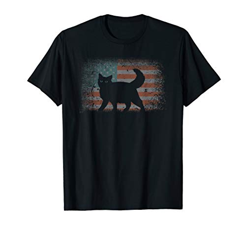 Vintage retro Flag Ragdoll Cat, Best Friends For Life funny T-Shirt
